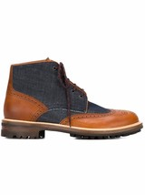 DSQUARED2 Men's Cuoio Othello Boot, Brown, 44 EU/11 M US Made in ITALY $755 - $299.75