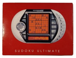 Sudoku Ultimate Advanced Puzzle Electronic Handheld Game - SRV Innovations - $26.69