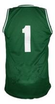 No Limit #1 Basketball Jersey Sewn Green Any Size image 5