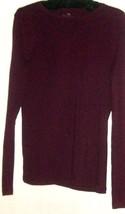 Women's Purple Scoop Neck Top Size S Talbots - $9.00