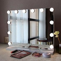 Fenair Makeup Vanity Mirror with Lights USB Outlet for Mobile Phone Holl... - $85.99