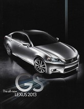 2012/2013 Lexus GS 350 450h HYBRID 1st Edition brochure catalog 13 US F ... - $8.00
