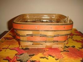 Longaberger 2009 Small Berry Orange & Brown Basket - $29.99