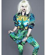VERSACE H&M WOMEN Kanye West Bright Sexy bomber jacket SIZE US 4 EU 34 - $599.00