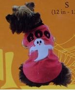 Boo Light Up Dog Ghost Tee SZ SM NEW Halloween Dog Tee  - $15.00