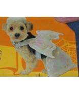 Angel Dog Costume Size Medium Pet ANGEL NEW Wings Shiny White Dress Wing... - $15.00