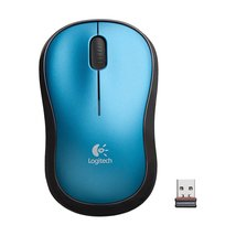 Logitech Plug-and-play Wireless Mouse, Blue - ₹1,092.62 INR