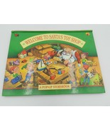 "Vintage Pop-Up Storybook ""Welcome to Santa's Toy Shop"" 1994 Landoll Hard... - $13.99"