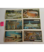 WF8 Lot of 15 NY World's Fair 1964 Postcards Pre-opening 1963 Info VG-EX - $15.00