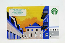 Starbucks Coffee 2015 Gift Card Quebec Province Canada Buildings Zero Ba... - $11.27
