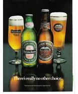 Heineken and Amstel Light - Full Page - Beer Advertisement Collectible - $6.50