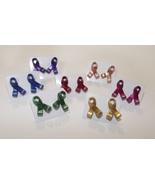 Awareness Ribbon Stud Earrings - Pick a color. - $10.00