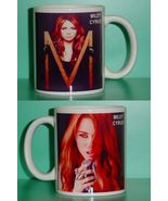 Miley Cyrus 2 Photo Designer Collectible Mug 02 - $14.95