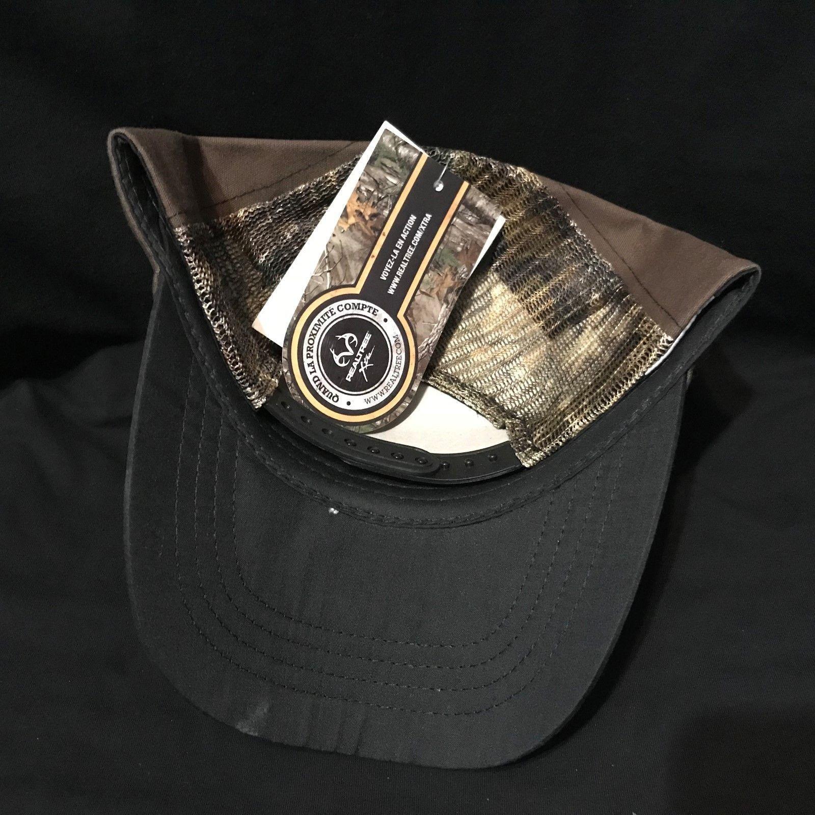 Chevy Trucks Realtree Camo Adjustable trucker baseball cap hat