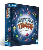 USAOPOLY Astro Trash Family Board Game | Fast Paced Family Dice Board Game | Be  - $32.36