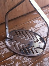 Vintage EKCO Forge Stainless Steel Potato Masher with the 2 Men Logo Mad... - $9.79