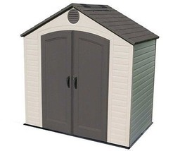 Lifetime Sheds 8x5 Plastic Storage Shed w/ Floor (6418) - $834.95