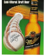 Miller Genuine Draft 2 Print Ads Miller Macro Beer- Collectible Near Mint - $3.49