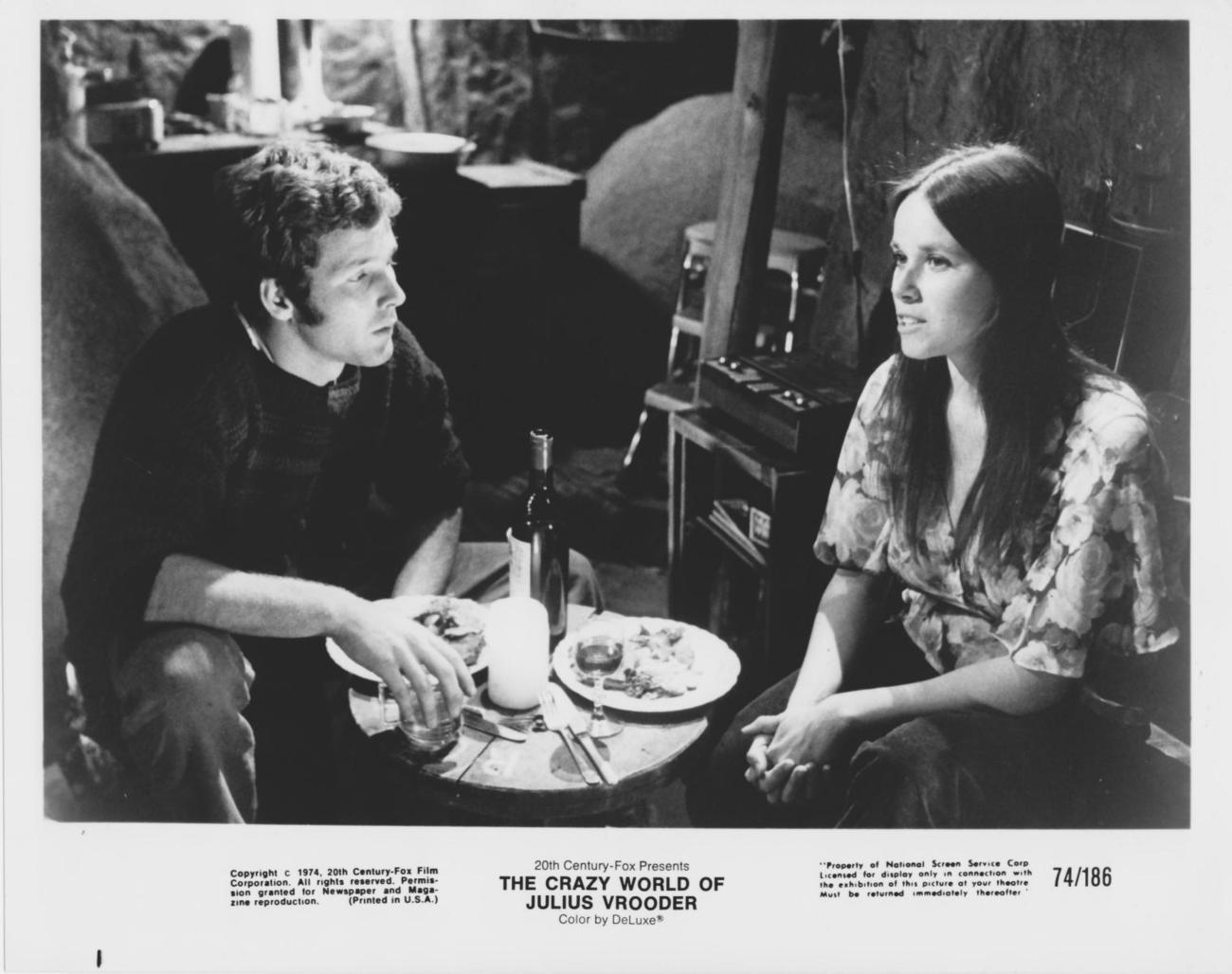 Timothy Bottoms Barbara Hershey  8x10 Photo 1684915