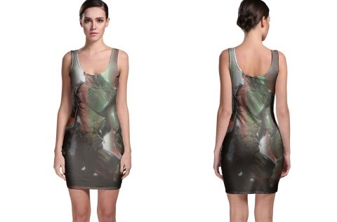 hulk marvel marvel transform Bodycon Dress - $21.99 - $27.99