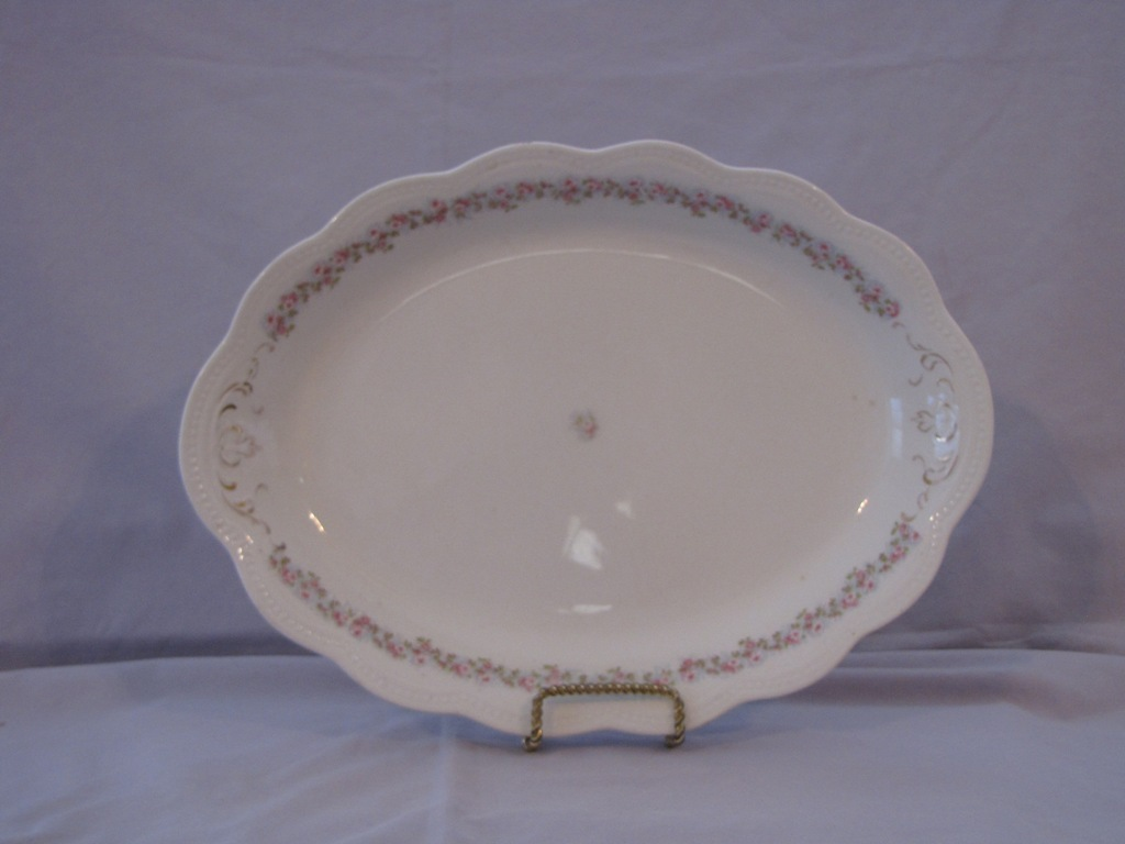 Johnson Bros. Oval Platter - $20.00