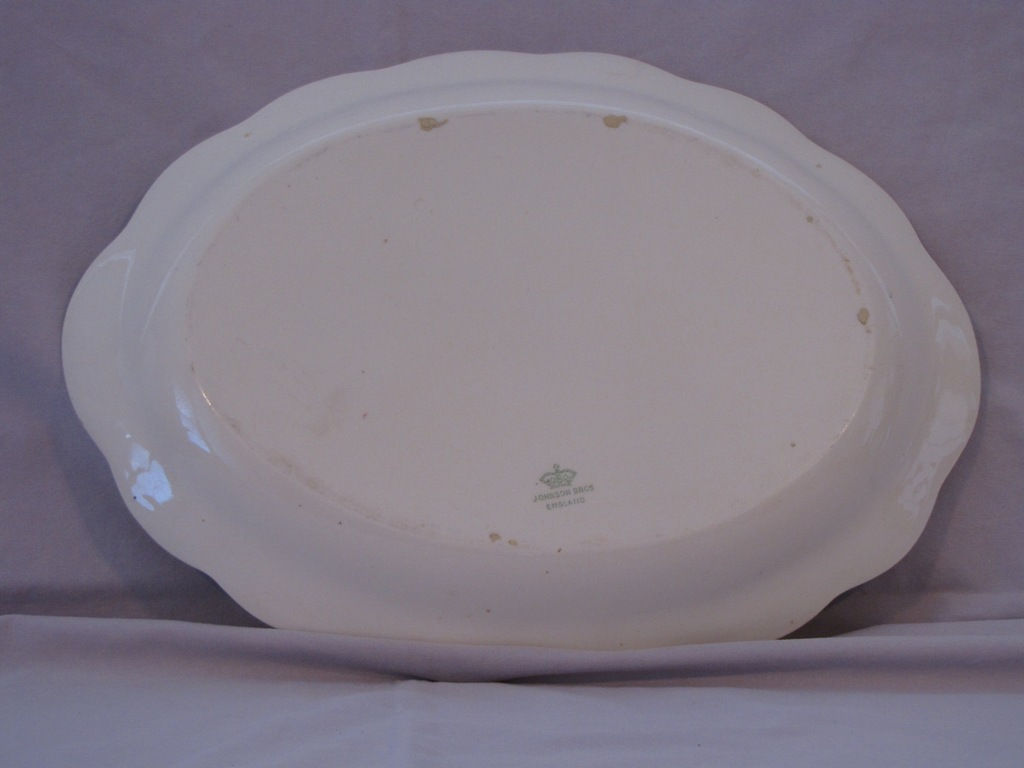 Johnson Bros. Oval Platter