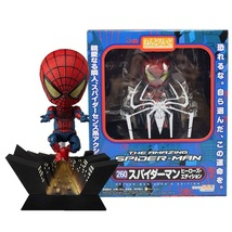 "Cute Nendoroid 4"" Spider-Man Marvel Mini Superhero PVC Action Figures Toys - $19.90"