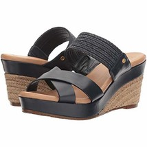 UGG Adriana Women's Wedge Sandals Black Size 10 - $89.09