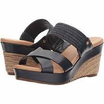 UGG Adriana Women's Wedge Sandals Black Size 10 - $89.09