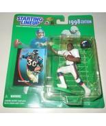 Terrell Davis 1998 Starting Lineup Football Action Figure Kenner SLU Broncos - $10.75