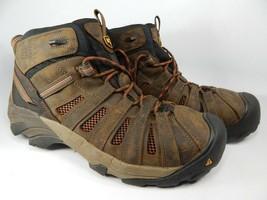 Keen Flint Mid Top Sz 11 M (D) EU 44.5 Men's Steel Toe Work Shoes Boots 1007972
