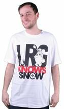 LRG Sait Neige T-Shirt en Blanc Taille:S