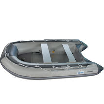 BRIS 9.8ft Inflatable Boat Tender Fishing Raft Dinghy Boat + Free Launch Wheels image 8