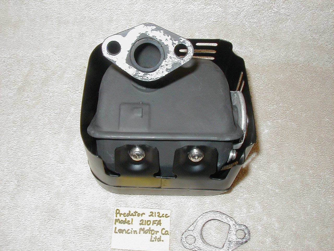 Heat Shield Head Shroud 60363 Predator 212cc Harbor Freight Hemi Engine 210FA
