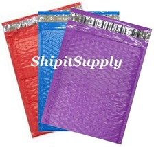 3-300 #0 6x10 ( Blue Teal & Purple ) Color Poly Bubble Mailers Fast Ship... - $3.49+