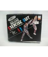 Vintage All Pro Indoor Outdoor Small/Medium Deluxe Vinyl Exercise Suit w... - $37.98