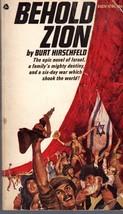 Behold Zion By Burt Hirschfeld - $3.95
