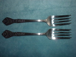 "Rogers Stainless  2 Dessert Salad Forks 6""  Betty Crocker - $14.99"