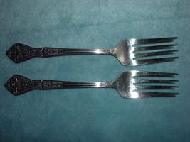"Rogers Stainless  2 Dessert Salad Forks 6""  Betty Crocker - $14.99"