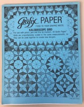 Grafix Paper Kaleidoscope Grid Tablet 1988 Lubisco Art Pad - $19.79