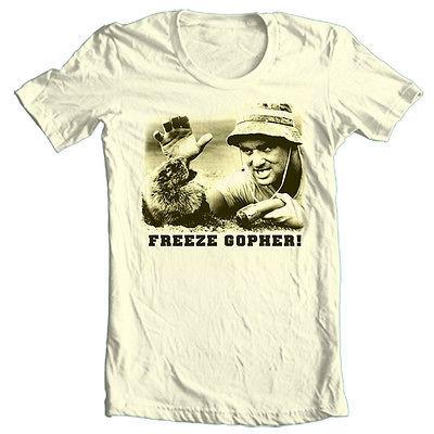 Caddyshack T shirt Bill Murray retro 80's golf comedy movie 100% cotton tee