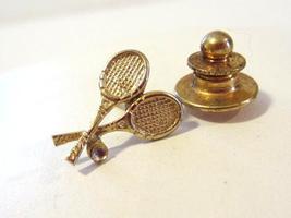 ANSON vintage sterling silver Tennis Racket pin/brooch - $7.00