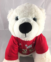 Build A Bear White Polar Bear Christmas Sweater Plush  - $14.88