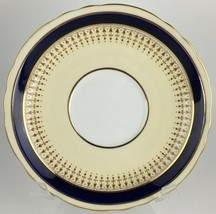 Aynsley 7301 Cobalt Saucer for cream soup bowl  - $10.00