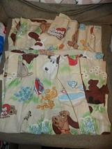 Vintage Pound Puppies Curtains Pinch Pleat Panels 80s Cartoons Set of 2 EUC - $59.25