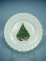 Salem China Noel Pattern Porcelle Salad Plate - $7.70