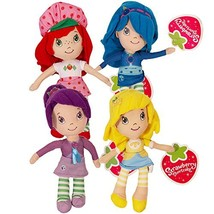 Strawberry Shortcake Plush and Friends Blueberry Muffin, Plum Pudding, L... - $23.11