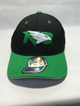 Adidas Youth One Size OSFA North Dakota Fighting Hawks Baseball Hat Cap ... - $19.39