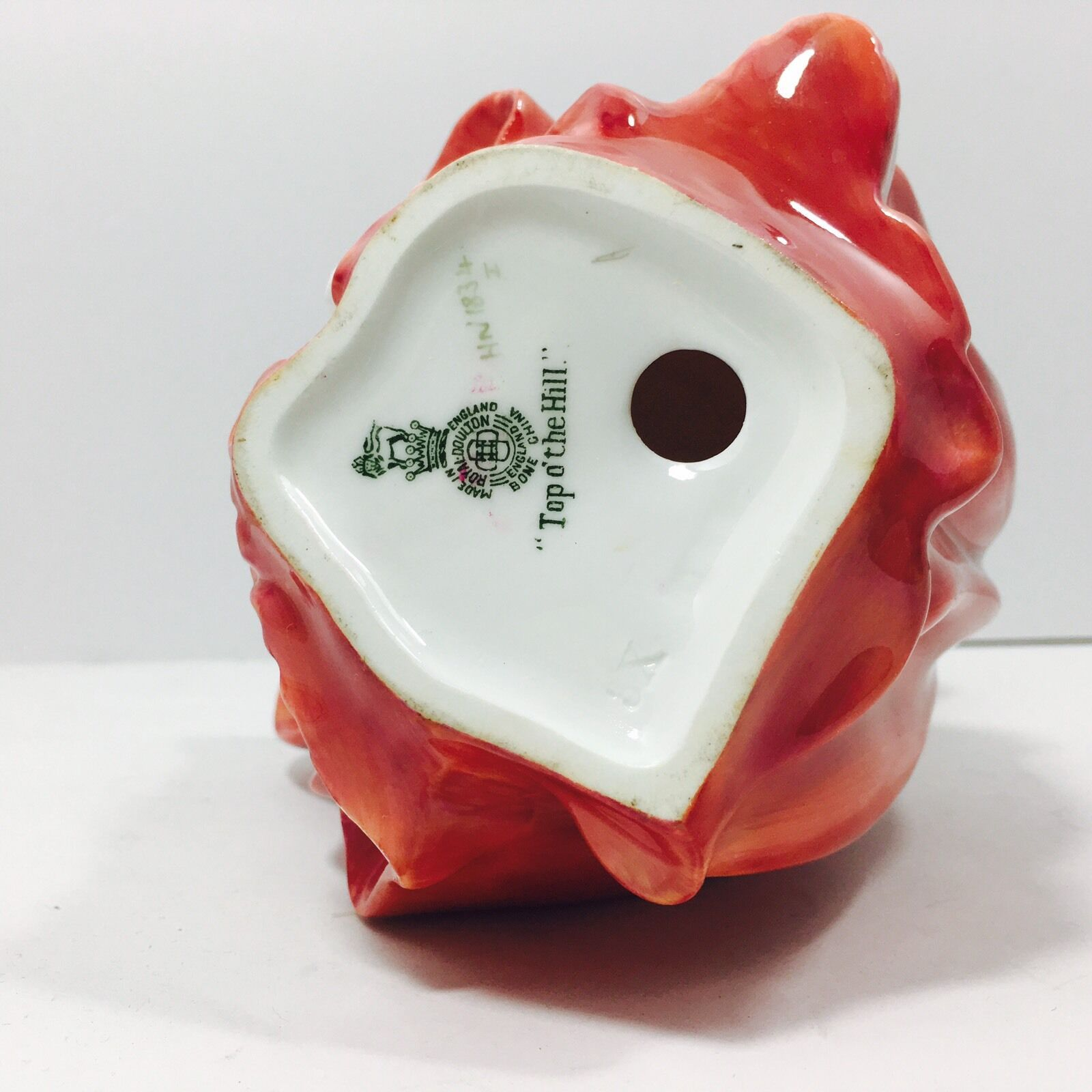 "Royal Doulton Vintage"" Parte Superior Del Colina"" ( Hn 1834 Alto) Porcelana Fina"