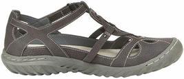 NEW JBU by Jambu Charcoal Ladies' Sydney Flat Sandals for Women JB19SNY01 image 3